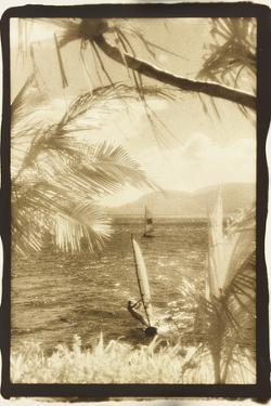 Wind surfing, Whitsunday Islands, Australia by Theo Westenberger