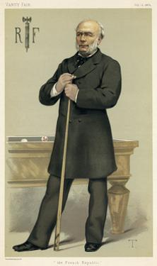 Jules Grevy, Politician by Theobald Chartran