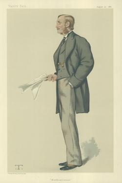 The Right Hon Earl Percy by Theobald Chartran