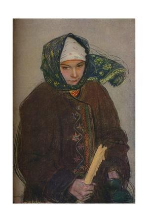 'A Ruthenian Peasant Girl', c1907