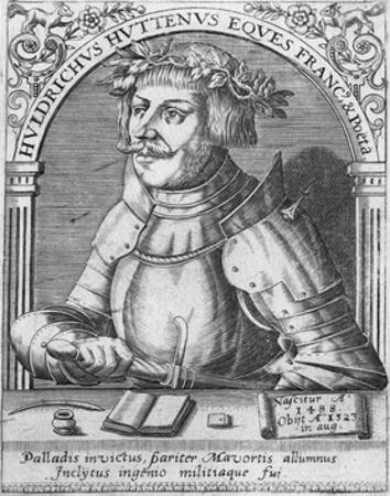 Ulrich Von Hutten by Theodor de Bry
