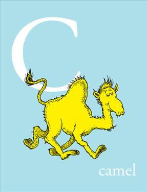 C is for Camel (blue) by Theodor (Dr. Seuss) Geisel