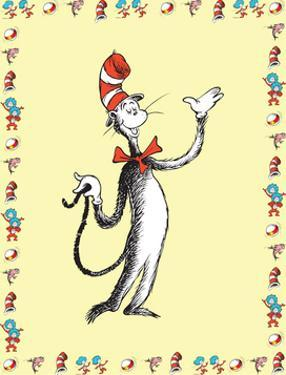 Cat in Hat Yellow Border Collection I - The Cat in the Hat (yellow bordered) by Theodor (Dr. Seuss) Geisel