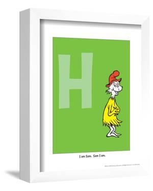 H - I Am Sam. Sam I Am. (on green) by Theodor (Dr. Seuss) Geisel