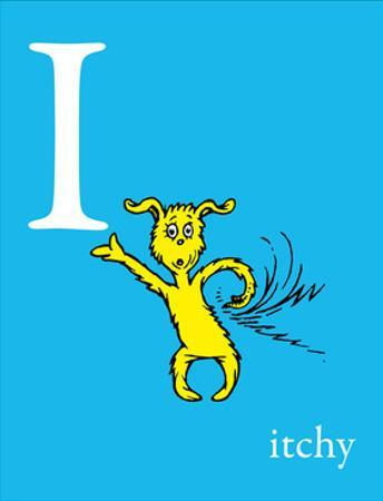 I is for Itchy (blue) by Theodor (Dr. Seuss) Geisel
