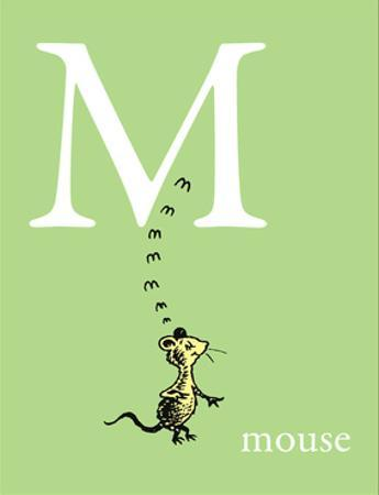 M is for Mouse (green) by Theodor (Dr. Seuss) Geisel