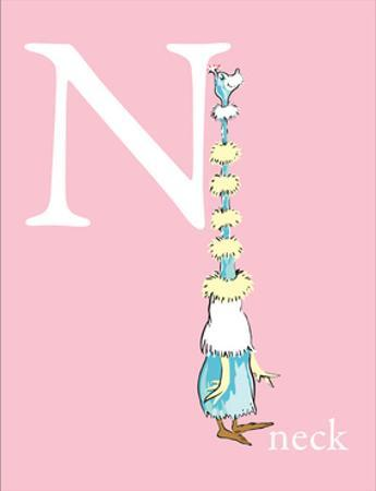 N is for Neck (pink) by Theodor (Dr. Seuss) Geisel
