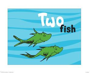 One fish two fish red fish blue fish posters for sale at for Doctor fish for sale