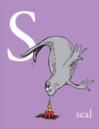 S is for Seal (purple) by Theodor (Dr. Seuss) Geisel