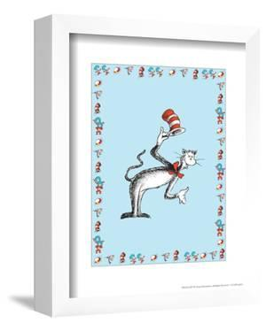 The Cat in the Hat: The Cat (on blue) by Theodor (Dr. Seuss) Geisel
