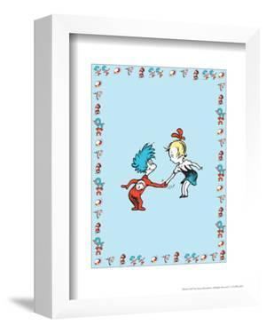 The Cat in the Hat: Thing One (on blue) by Theodor (Dr. Seuss) Geisel