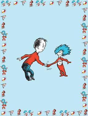The Cat in the Hat: Thing Two (on blue) by Theodor (Dr. Seuss) Geisel