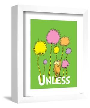 The Lorax: Unless (on green) by Theodor (Dr. Seuss) Geisel
