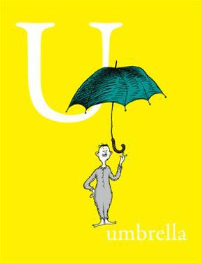 U is for Umbrella (yellow) by Theodor (Dr. Seuss) Geisel