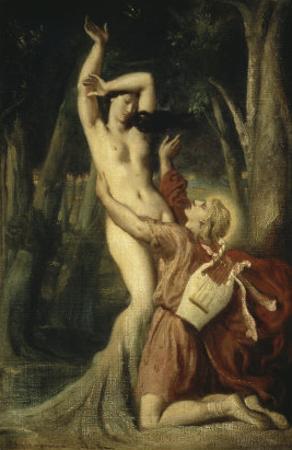 Apollon et Daphne by Theodore Chasseriau