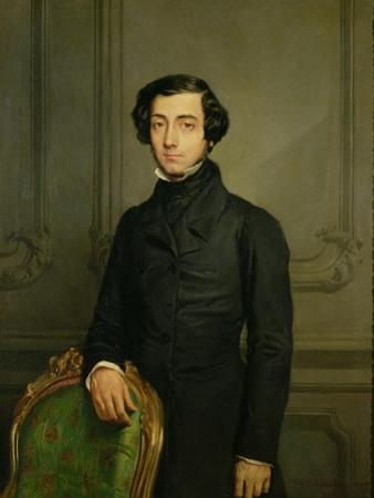 Charles-Alexis-Henri Clerel De Tocqueville (1805-59) 1850 by Theodore Chasseriau