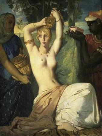 La Toilette D'Esther, c.1841 by Theodore Chasseriau
