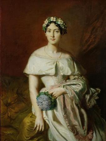 Mademoiselle Marie-Therese de Cabarrus, 1848 by Theodore Chasseriau