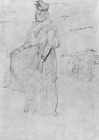 Moorish Woman by Theodore Chasseriau