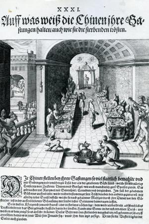 India Orientalis, 1598 by Theodore de Bry