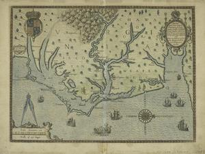 Newly discovered Virginia, 1590 by Theodore de Bry