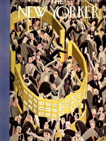 The New Yorker Cover - August 31, 1929