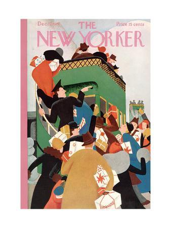 The New Yorker Cover - December 12, 1931