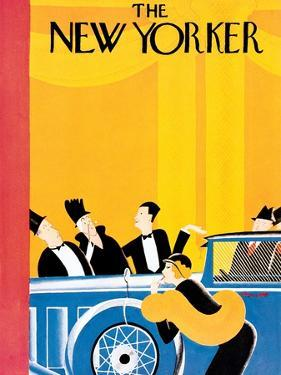 The New Yorker Cover - January 9, 1932 by Theodore G. Haupt