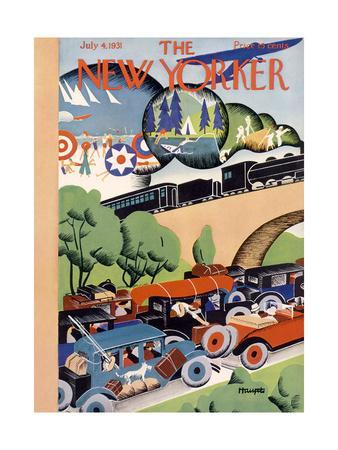 The New Yorker Cover - July 4, 1931
