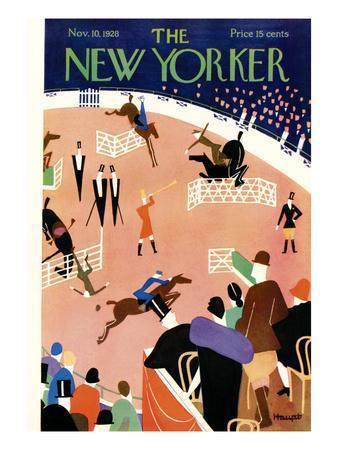 The New Yorker Cover - November 10, 1928