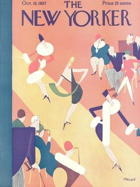 The New Yorker Cover - October 15, 1927 by Theodore G. Haupt