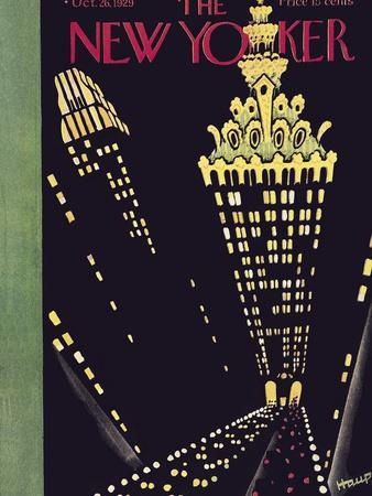 The New Yorker Cover - October 26, 1929