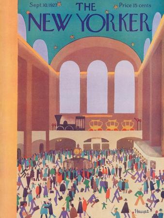The New Yorker Cover - September 10, 1927