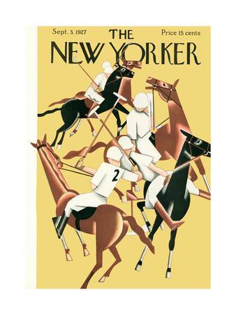 The New Yorker Cover - September 3, 1927