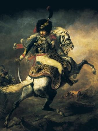Officer of the Hussars by Théodore Géricault
