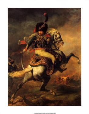 Officer of the Imperial Guard by Théodore Géricault