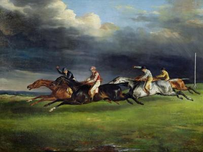 The Epsom Derby, 1821