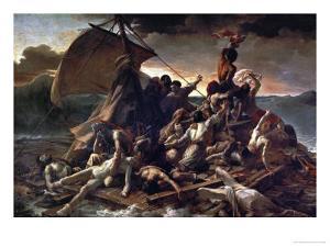 The Raft of the Medusa, 1819 by Théodore Géricault