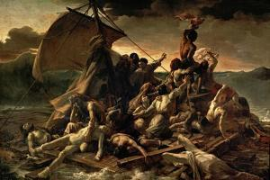 The Raft of the Medusa (Le Radeau De La Médus), 1818-1819 by Théodore Géricault