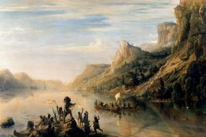 Jacques Cartier Discovered the Saint Lawrence River in 1535 by Théodore Gudin