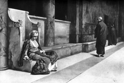 In the Church, Greece, 1895