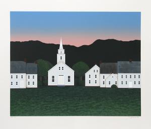 Church at Sunset by Theodore Jeremenko