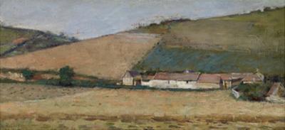 A Farm Among Hills, Giverny, C.1887