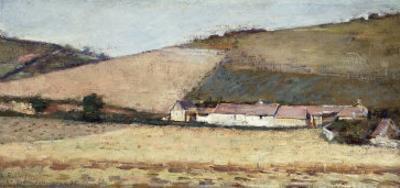 Farm Among the Hills, Near Giverny, 1898
