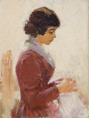 Girl in Red, Sewing