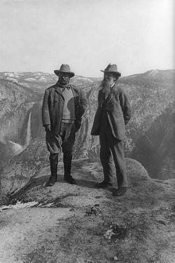 Theodore Roosevelt with John Muir