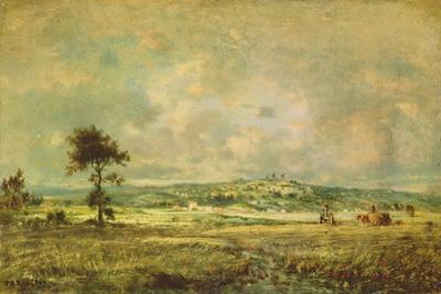Effects of a Storm, View of the Plain of Montmartre by Théodore Rousseau
