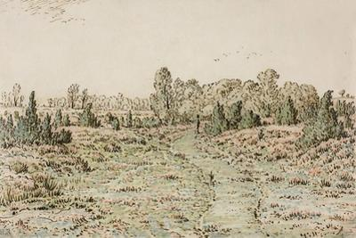 Footpath in the Barbizonnières, 1864 by Theodore Rousseau