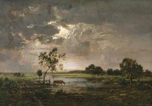 Landscape, C.1842 by Theodore Rousseau