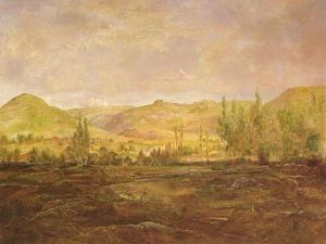 Valley of Saint-Fergeux (Doubs) by Theodore Rousseau